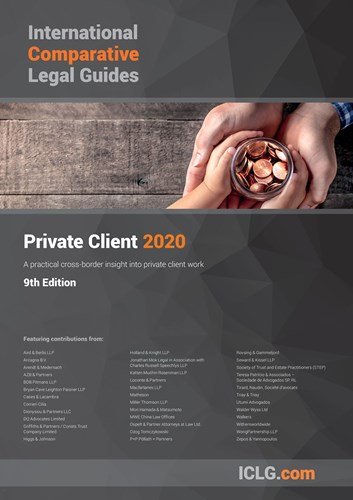 ICLG: Private Client 2020